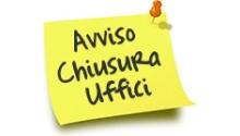 PROGRAMMAZIONE CHIUSURA UFFICI